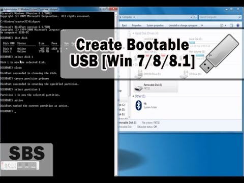 make a bootable usb from iso windows 7