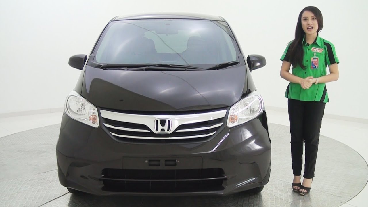 mobil bekas honda freed 1.5 at -coklat kilau metalik - youtube