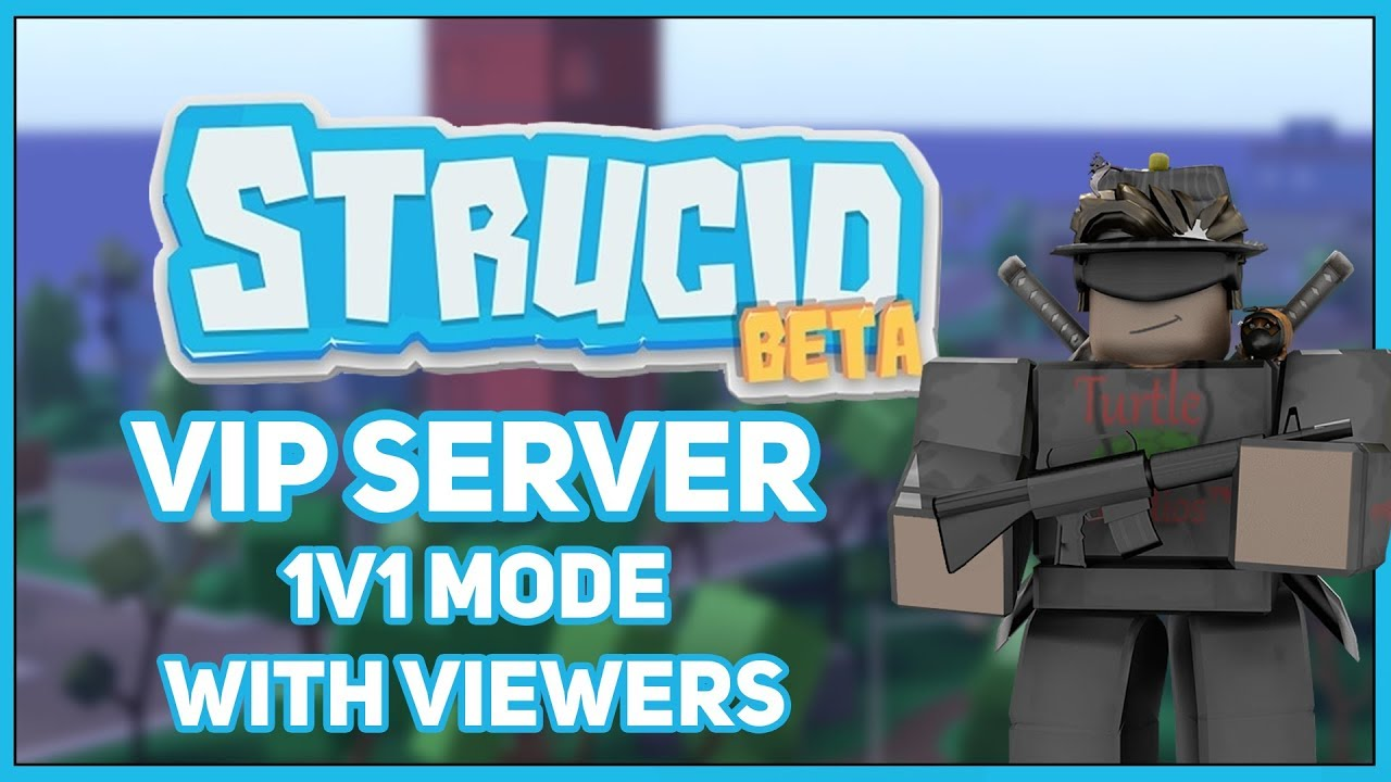 Live] Roblox Strucid 1v1 Mode with Viewers (Pr0 Birthday ...