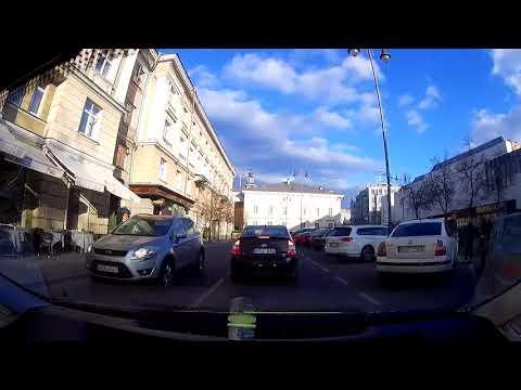 Driving in Vilnius