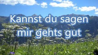Jan Smit - Jeder Braucht Ein Bisschen Glück (Karaoke)