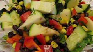 Betty's Festive Black Bean Salad