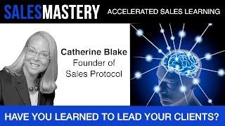Leadership Skills Sales Coaching Video: Catherine Blake