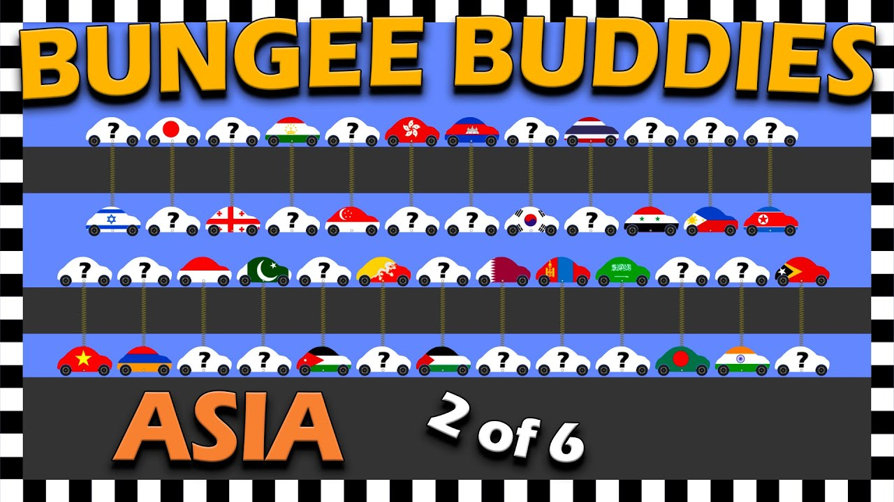 Country Cars Bungee Buddies Asia Car Race