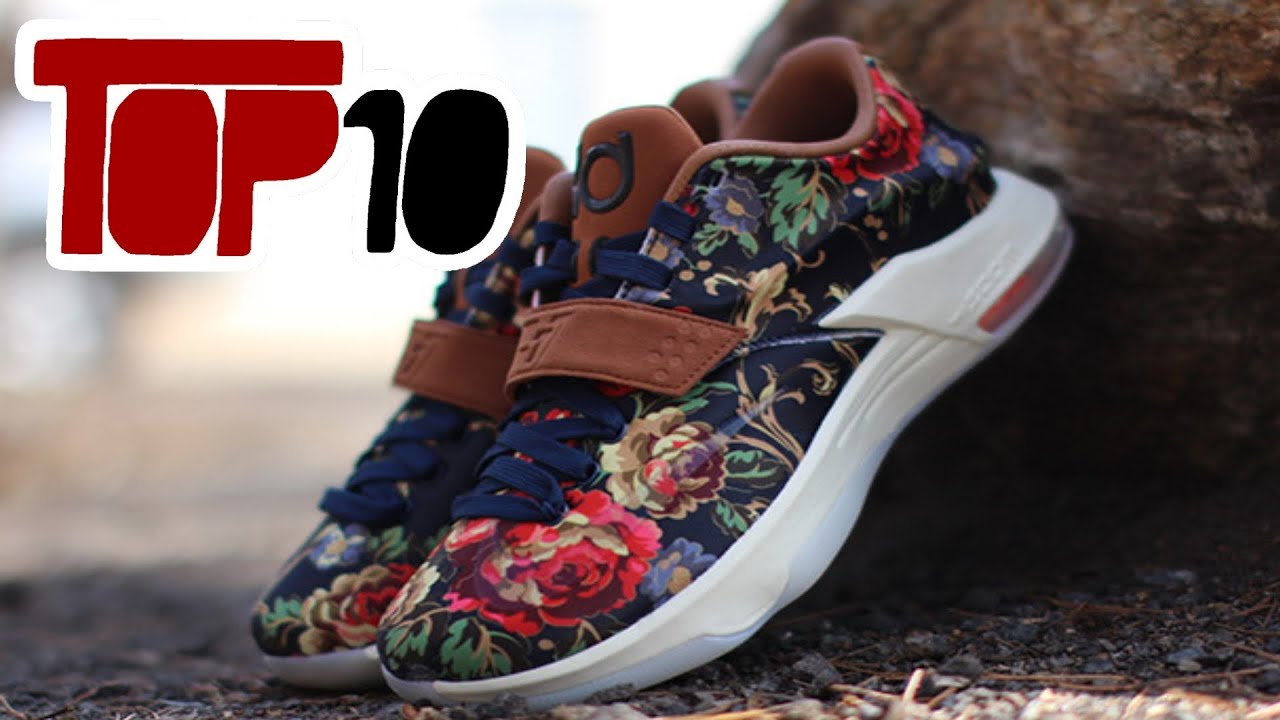 bd3a48b54e8c Top 10 Nike KD 7 Shoes Of 2015 - YouTube