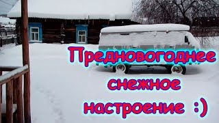 Нас завалило снегом :))) С наступающим праздниками! (12.17г.) Семья Бровченко.