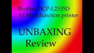 Brother DCP - L2535D Printer Review