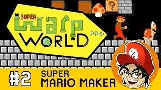 Super Warp World Blind Speedrun (World 3)  | Super Mario Maker