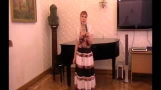 Наталья Ориан стихотворение ''Любимый город''. Библиотека им. Л.Н. Толстого