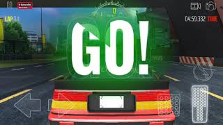 JDM Racing Simulator New  Red CAR unlocked  -Japanese Car Driving -Android Gameplay FHD