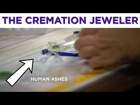 Odd Jobs: This woman makes jewelry from cremation ashes