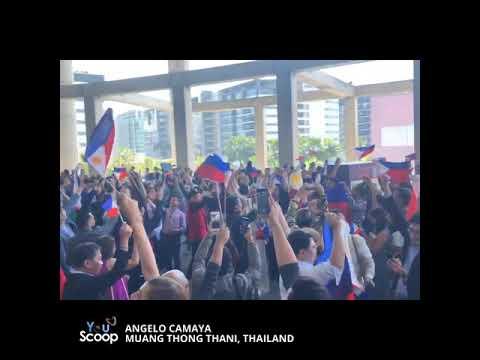 YouScoop: Mga Pinoy sa Thailand, nagdiwang sa pagkapanalo ni Catriona Gray bilang Miss Universe 2018