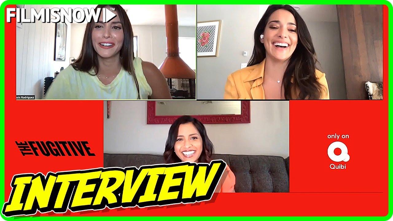 Genesis Rodriguez, Tiya Sircar & Natalie Martinez Interview for THE FUGITIVE