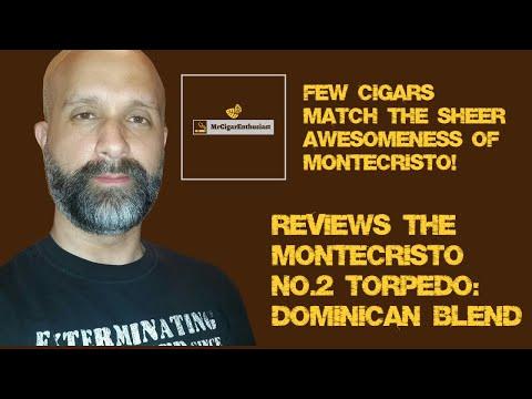 MrCigarEnthusiast Reviews The Montecristo No.2 Torpedo - Dominican Blend