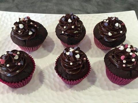 Chocolate Cupcake With Fudge Icing