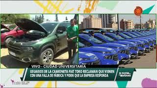 Usuarios de la Fiat Toro denuncian fallas