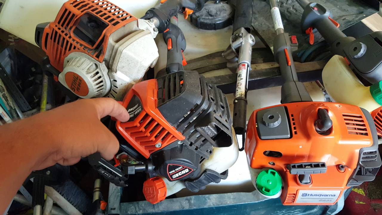 Stihl vs echo vs husqvarna a match up of the top 3 for Comparatif debroussailleuse stihl husqvarna