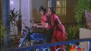 Nalini Hot Rain song in red saree