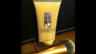 clinique stay matte foundation review