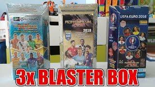 3x BLASTER BOX FIFA 365 2019 vs EURO 2016 vs EKSTRAKLASA