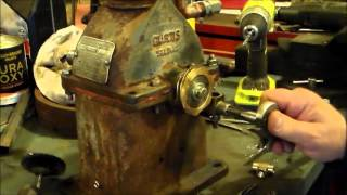 converted air compressor to gas engine pt 5