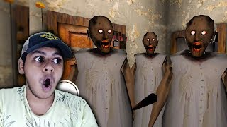 3 GRANNY's vs 1 INDIAN kid CHALLENGE !! Granny Funny Moments !! | Granny Horror Game #7