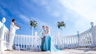 Бомба с вертолета! Самая эпотажная свадьба Ялты! Очаровательная аэро съемка! Море и любовь!