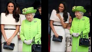 Meghan And Queen Elizabeth II First Joint Royal Engagement