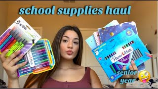 BACK TO SCHOOL SUPPLIES HAUL + GIVEAWAY | 2019
