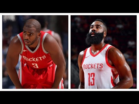 Best Of Chris Paul & James Harden From The 2017 NBA Preseason