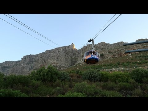 TABLE MOUNTAIN - CAPE TOWN, SOUTH AFRICA | Travel Vlog | Western Cape