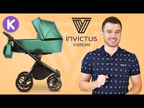 Invictus V-Dream - обзор детской коляски новинки от супермаркета Карапузов. Инвиктус В-Дрим