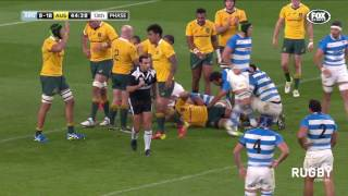 Wallabies too strong for Los Pumas at Twickenham