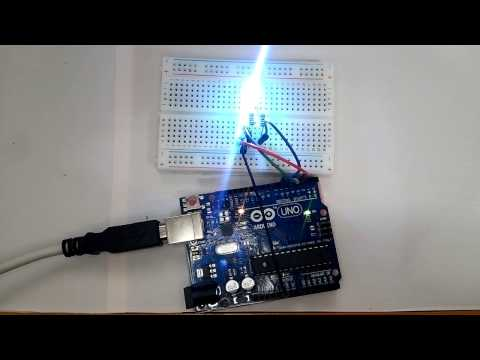 Howto Arduino Communication_Read ASCII String, Control RGB LED From Serial Monitor