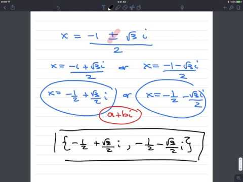 Quadratic Formula 1080p