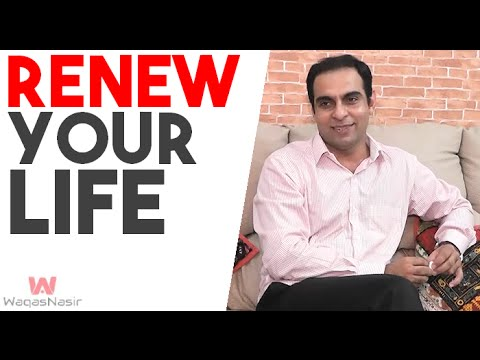 Renew Your Life - By Qasim Ali Shah (In Urdu/Hindi) 2015