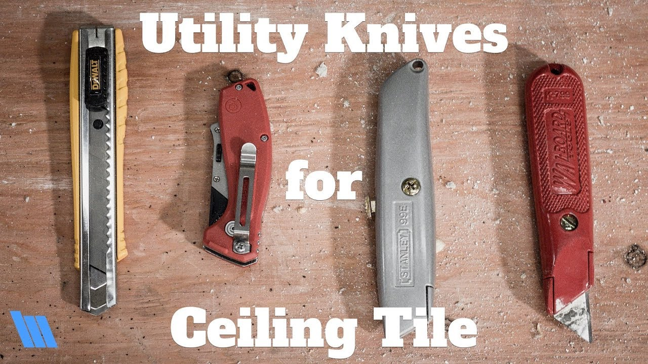 Utility Knives For Cutting Ceiling Tile
