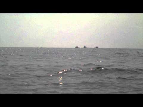 USS Mississippi in Mississippi Sound