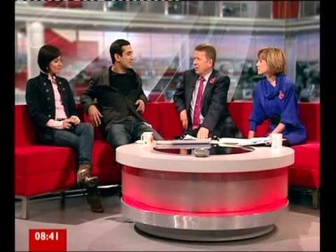 Jimi And Flavia On BBC Breakfast
