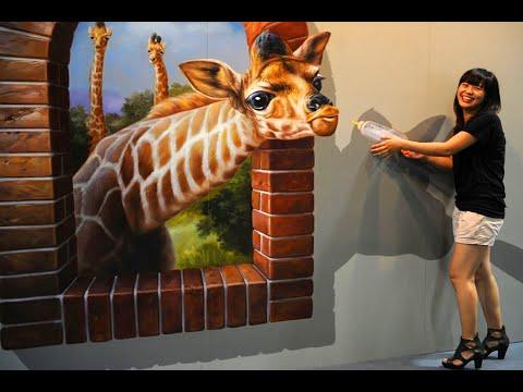 Aesi painting kay yaqeen karna mushkil hai – 3D paper painting arts