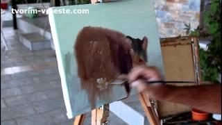 Макс Скоблинский уроки живописи для детей.Пишем с ребенком