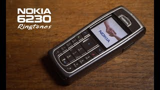 NOKIA 6230 ringtones  🎼🎵 🎶