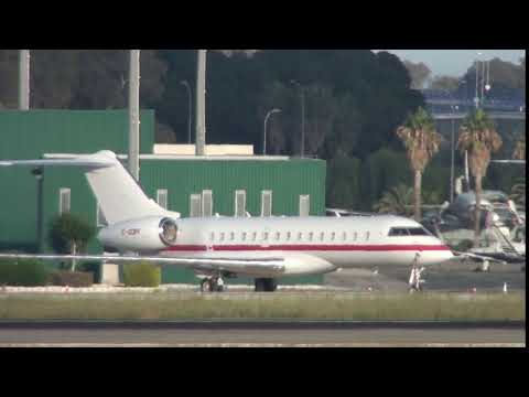 Private Bombardier BD 700 1A10 Global Express C-GDPF at Malaga LEMG