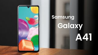 Samsung Galaxy A41 with IP68 Water & Dust Certification LAUNCHED!!! Detailed Specs!!