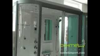видео Гидромассажный бокс (душевая кабина) с ванной