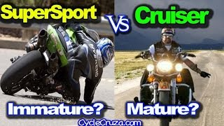 SuperSport vs Cruiser Community - Biker Immaturity - Ghetto Trip