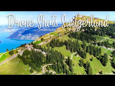 BEAUTIFUL DRONE SHOTS of Switzerland Mountains & Other Crazy Things | Switzerland Travel Vlog 2018