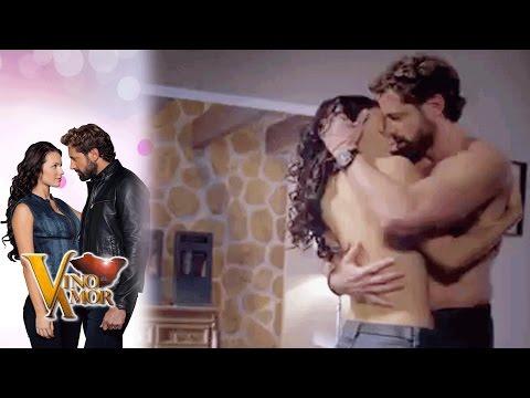Luciana y David por fin se entregan al amor | Vino el amor - Televisa