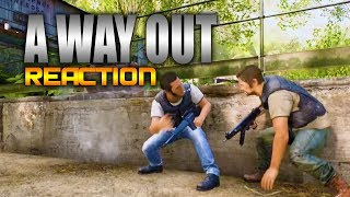 A Way Out Gameplay Trailer Reaction (AWESOME New Game) - E3 2017 EA Press Conference