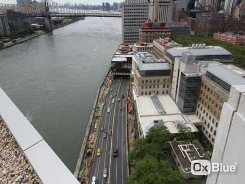 Time lapse Video of the Rockefeller University River building over FDR